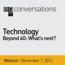 Banner image for the SEGD Beyond 4G Technology Webinar
