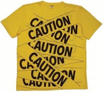 Don Kiel Wins Award for SEGD Auction Project: Caution Tape T-Shirt