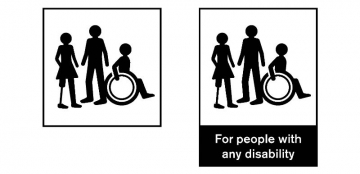 """New """"Any Disability"""" Symbol Gets Resounding Westminster Support"""