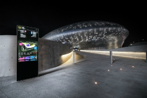 Dongdaemun Design Plaza wayfinding signage (Applied Wayfining and YiEUM Partners Consortium