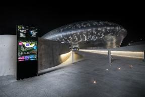 Dongdaemun Design Plaza wayfinding signage (Applied Wayfining and YiEUM Partners Consortium