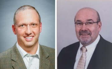 Avery Dennison's Nick Tucci and Gernot Ritzdorf
