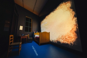 Van Gogh's Bedrooms exhibit at Art Institute of Chicago / Interactives by Bluecadet