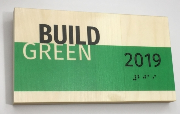 """Green Dot Sign Named """"Most Innovative"""" Exhibitor at 2019 Greenbuild"""