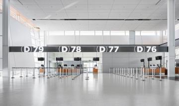 Calgary Airport Signage and Wayfinding