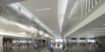 """SLC Airport """"The Canyon"""" Rendering"""