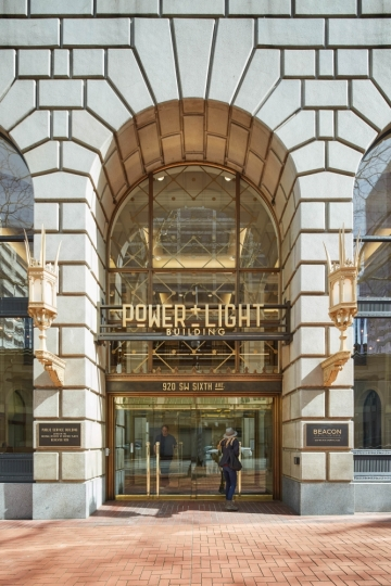 ESI Design Renovates Portland's Historic Power + Light Building