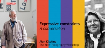Lucy Holmes and Alan Kitching Talk Type
