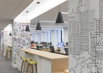 Gensler Illustrates a New York City Vibe