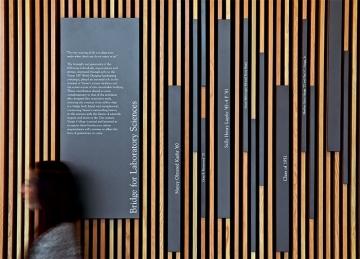 Poulin + Morris wayfinding for Vassar