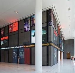 NPR Headquarters lobby new Digital Signage