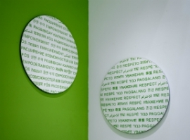 Planned Parenthood signage by C&VE