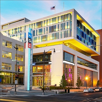 photograph of the New NPR Headquarters by Poulin + Morris
