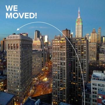 Design studio Two Twelve has moved!