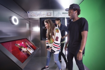 United Center Retail Interactives by Leviathan
