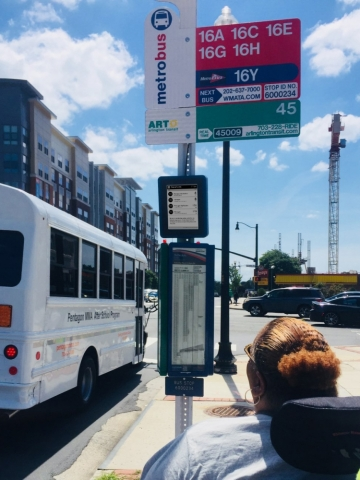 WMATA and Connectpoint® Bring Sustainable Real-Time Bus Information Along Busy Columbia Pike Service Routes