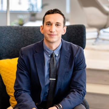 DLR Group welcomes experiential graphic designer Zach Kotel to the firm.
