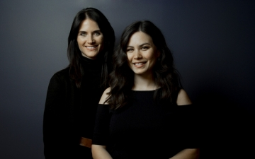 L-R: Leviathan Senior Producer Brittany McCullars and Associate Director of Strategic Partnerships Adrienne Rehm.