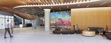 Photo of Montefiore Medical Center mural