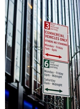 Photo of New York City street parking signage