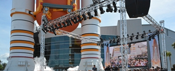 Photo of Space Shuttle Atlantis at the Kennedy Space Center