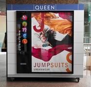 photo of advertising program for Toronto Transit System