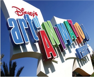 Photo of Disney's Art of Animation Resort identity
