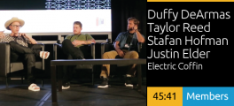 Duffy DeArmas, Taylor Reed, Stefan Hofmann, Justin Elder - Electric Coffin - Failing Successfully