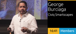 George Burciaga - The Digital City: Creating New Ecosystems