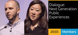 Alexandre Simionescu and Inessah Selditz - Dialogue: Next Generation Public Experiences