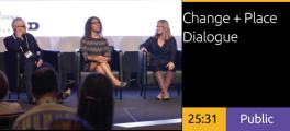 Jennifer Chenoweth, Lisa Woods, DJ Stout - Change + Place Dialogue