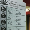 Palmetto Health Children's Hospital Wayfinding and Graphics, Stanley Beaman & Sears