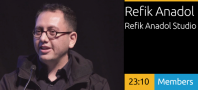 Refik Anadol - Experiential Content: Connecting To Place