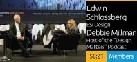 SEGD 2019 Xlab: Edwin Schlossberg & Debbie Millman - Present State of Experiential Design