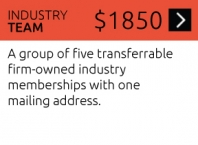 Industry Team/Studio Membership