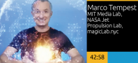 Keynote: Inventing the Impossible, Marco Tempest