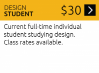 Join as a Design Student Alt: Design Student Membership