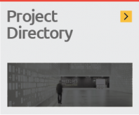 Access a list of Projects with budgets, project area, designer and fabricator information