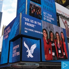 15 Seconds of Fame, American Eagle Outfitters, R/GA
