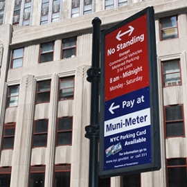 34th Street Parking Regulation Sign System, 34th Street Partnership