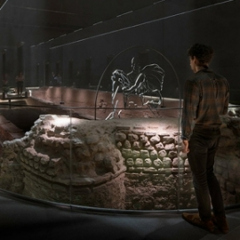 London Mithraeum Bloomberg SPACE
