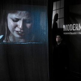 Modern Slavery: Human Trafficking in the United States, President Lincoln's Cottage, Howard+Revis Design