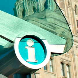 INFOTOGO Toronto Wayfinding System, Astral Media Outdoor, Kramer Design Associates
