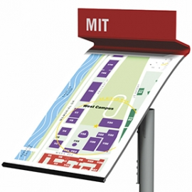 MIT Wayfinding & Signage, Olin Partnership and Massachusetts Institute of Technology, Joel Katz Design Associates