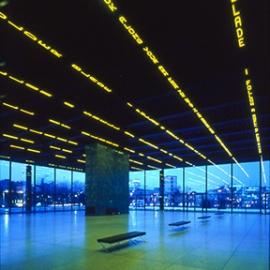 Neue Nationalgalerie, Jenny Holzer, Sunrise Systems