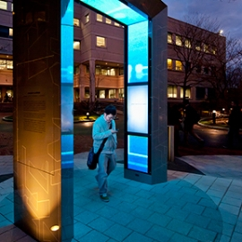 Northeastern University Tribute Portal, Northeastern University, Selbert Perkins Design