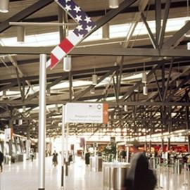 Ottawa MacDonald Wayfinding Signage Program, Cartier International Airport Authority, Gottschalk + Ash International