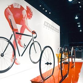Reynolds Interbike Exhibit, Reynolds Composites, Mauk Design