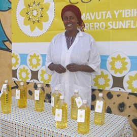 Sunflower Oil Project, Rugerero Sunflower Oil Cooperative, Drexel University, ex;it Foundation