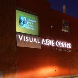 Visual Arts Center of Richmond Signage, 3north